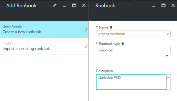 Azure Automation: Graphical Authoring Part2